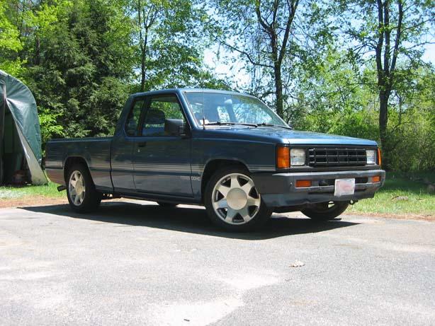 D Rf on 1989 Dodge Ram Blue